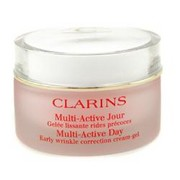 Women - Clarins Multi-Active Day Early Wrinkle Correction Cream Gel ( Normal to Combination Skin ) --50ml/1.7oz