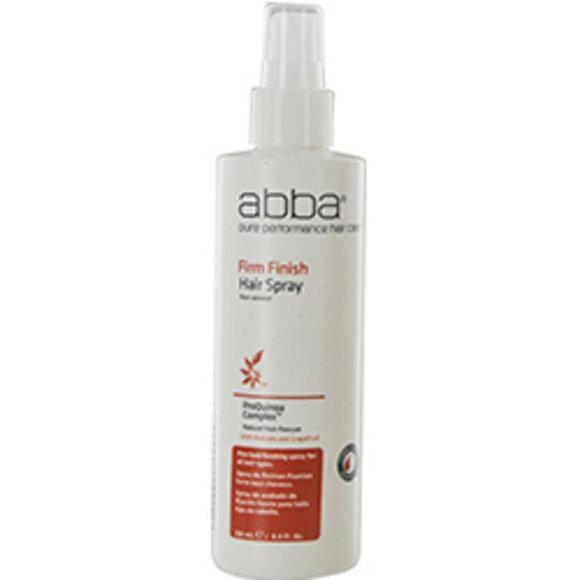 Abba Pure & Natural Hair Care Women Abba Firm Finish Hair Spray 8 Oz