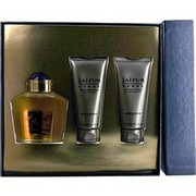 Men - JAIPUR EAU DE PARFUM SPRAY 3.4 OZ & AFTERSHAVE BALM 3.4 OZ & ALL OVER SHOWER GEL 3.4 OZ