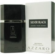 Men - AZZARO SILVER BLACK EDT SPRAY 3.4 OZ