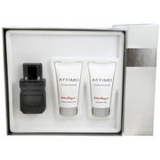Men - ATTIMO EDT SPRAY 2 OZ & AFTERSHAVE BALM 1.7 OZ & SHAMPOO AND SHOWER GEL 1.7 OZ