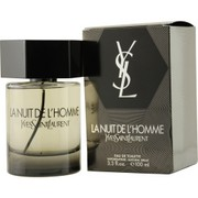 Men - LA NUIT DE L'HOMME YVES SAINT LAURENT EDT SPRAY 3.4 OZ