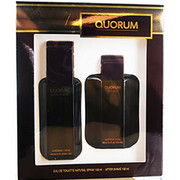 Men - QUORUM EDT SPRAY 3.4 OZ & AFTERSHAVE 3.4 OZ