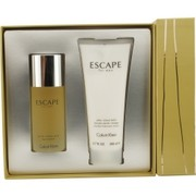 Men - ESCAPE EDT SPRAY 3.4 OZ & AFTERSHAVE BALM 6.7 OZ