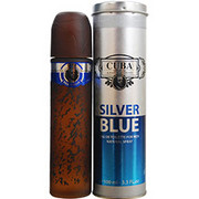 Men - CUBA SILVER BLUE EDT SPRAY 3.4 OZ
