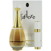Women - JADORE EAU DE PARFUM SPRAY 3.4 OZ & EAU DE PARFUM REFILLABLE PURSE SPRAY .25 OZ
