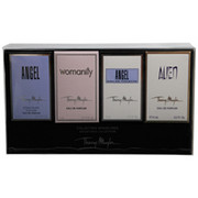 Women - ANGEL VARIETY 4 PIECE MINI VARIETY SET WITH ANGEL & ALIEN & ANGEL COMET & THIERRY MUGLER WOMANITY AND ALL ARE MINIS