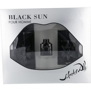 Men - BLACK SUN EDT SPRAY 3.4 OZ & AFTERSHAVE SPRAY 1.7 OZ & EDT .17 OZ MINI