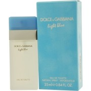 Dolce & Gabbana - D & G LIGHT BLUE EDT SPRAY .8 OZ