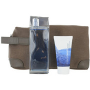 Men - L'EAU PAR KENZO EDT SPRAY 3.4 OZ & HAIR AND BODY SHAMPOO 1.7 OZ & POUCH