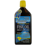 Women - Carlson The Very Finest Fish Oil Omega 3's DHA & EPA -Lemon Flavor--16.9 oz