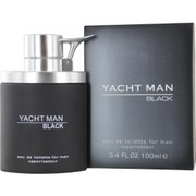 Men - YACHT MAN BLACK EDT SPRAY 3.4 OZ