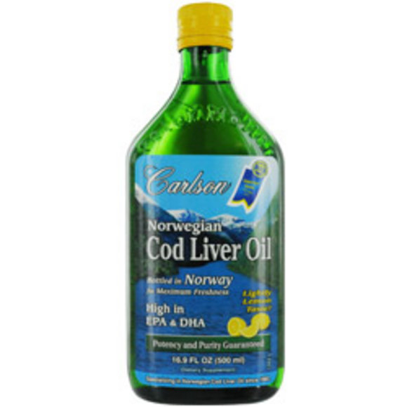 Carlson Women Carlson Norwegian Cod Liver Oil Lightly Lemon Taste High - $44.99