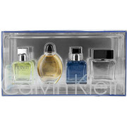Men - CALVIN KLEIN VARIETY 4 PIECE MENS MINI VARIETY WITH ETERNITY & EUPHORIA & ETERNITY AQUA & OBSESSION AND ALL ARE EDT .5 OZ