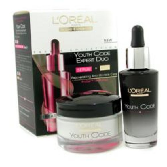 L'oreal Women L'oreal Dermo-Expertise Youth Code Expert Duo: Serum +