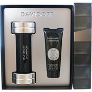 Men - DAVIDOFF CHAMPION EDT SPRAY 3 OZ & HAIR AND BODY SHAMPOO 2.5 OZ