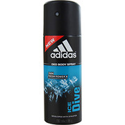 Men - ADIDAS ICE DIVE DEODORANT BODY SPRAY 4 OZ (DEVELOPED WITH THE ATHLETES)