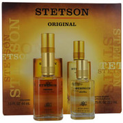 Men - STETSON COLOGNE 1.5 OZ & AFTERSHAVE .75 OZ