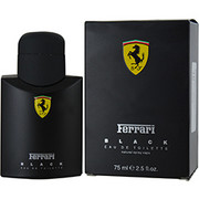 Men - FERRARI BLACK EDT SPRAY 2.5 OZ