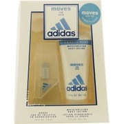 Women - ADIDAS MOVES EDT SPRAY .25 OZ & BODY LOTION 2 OZ