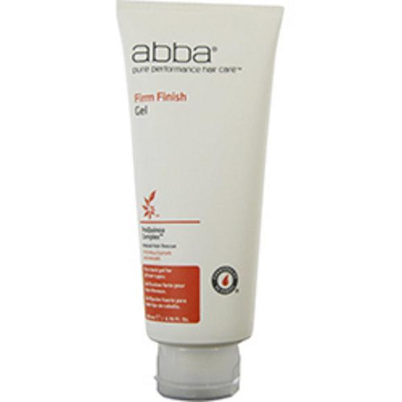 Abba Pure & Natural Hair Care Women Abba Firm Finish Gel 6.76 Oz