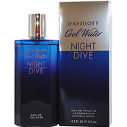 Men - COOL WATER NIGHT DIVE EDT SPRAY 4.2 OZ