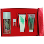Women - GREEN TEA EAU DE PARFUM SPRAY 3.3 OZ & BODY LOTION 3.3 OZ & SHOWER GEL 3.3 OZ & EAU DE PARFUM .12 OZ MINI