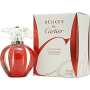 Women - DELICES DE CARTIER EDT SPRAY 1.6 OZ