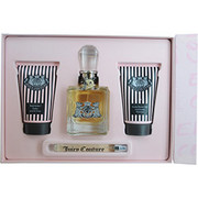 Women - JUICY COUTURE EAU DE PARFUM SPRAY 3.4 OZ & BODY SORBET 4.2 OZ & FROTHY SHOWER GEL 4.2 OZ & EAU DE PARFUM SPRAY PEN .33 OZ MINI