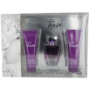 Women - PARIS HILTON TEASE EAU DE PARFUM SPRAY 3.4 OZ & BODY LOTION 3 OZ & SHOWER GEL 3 OZ