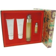 Women - PERRY ELLIS 360 EDT SPRAY 3.4 OZ & BODY LOTION 3 OZ & SHOWER GEL 3 OZ & EDT SPRAY .25 OZ MINI