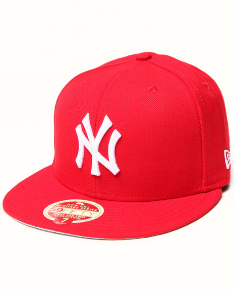 New Era - Men Red New York Yankees 1996 Champs 5950 Fitted Hat