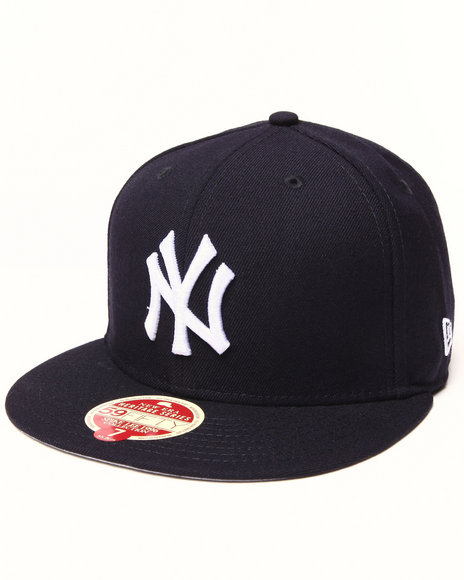 New Era - Men Navy New York Yankees 1996 Champs 5950 Fitted Hat
