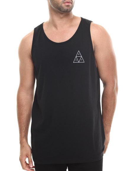 HUF Black Triple Triangle Tank