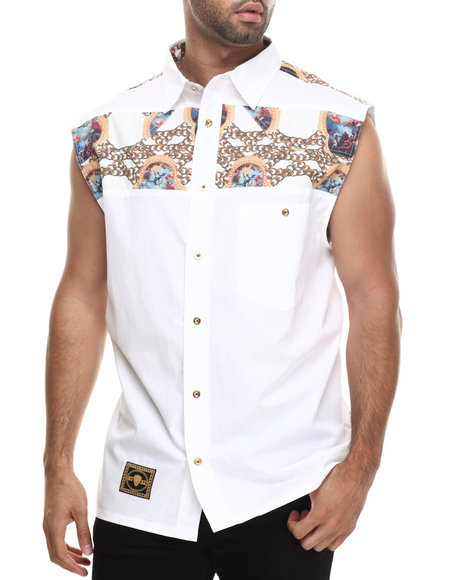 Eight 732 White Fly S/L Vest