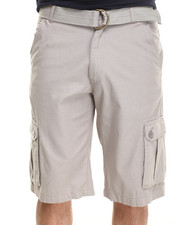 Men - Herringbone twill shorts