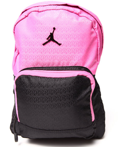 2551be7c3906 Air Jordan Girls 365 Mini Elite Backpack Pink