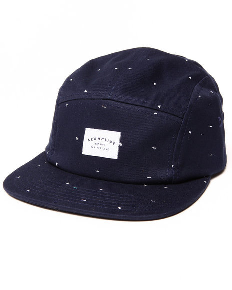 Akomplice Scribble 5-Panel Cap Black