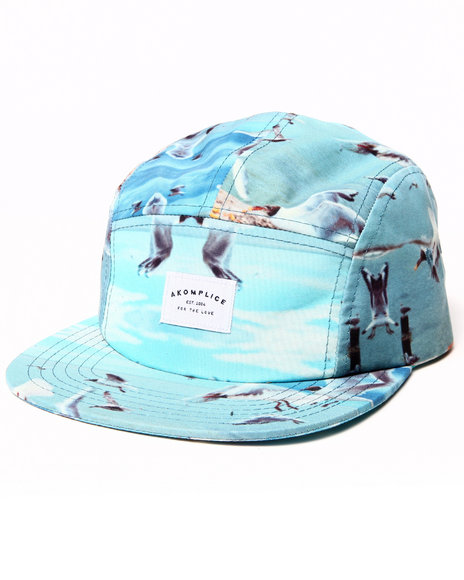 Akomplice Men Birds Heaven 5-Panel Cap Multi - $22.99