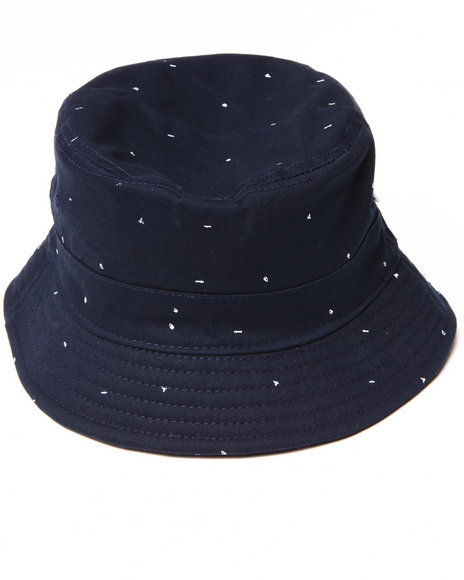 Akomplice Navy Scribble Bucket Hat