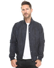 Jackets & Coats - Fallden Needle Punch Camo Bomber