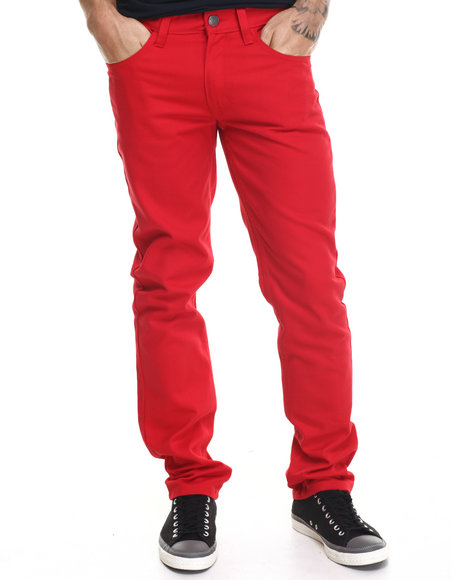 Enyce - Men Red New Tradition Twill Pants
