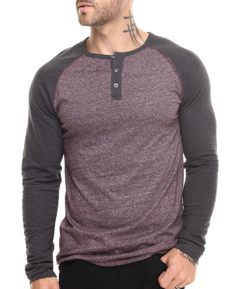 Buyers Picks Maroon Henleys