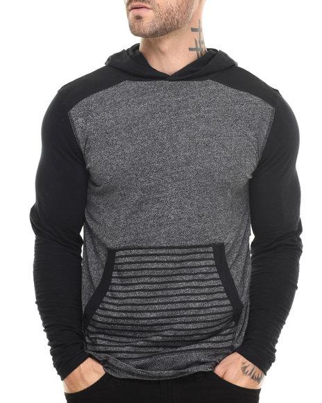 Buyers Picks - Men Black Grindle Pullover Jersey
