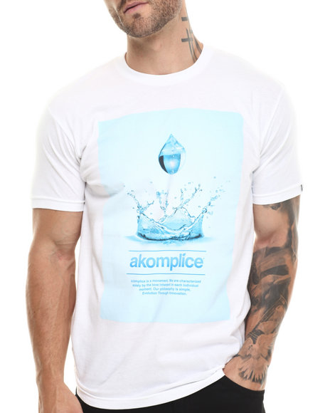 Akomplice - Men White Love Momentum Tee - $21.99