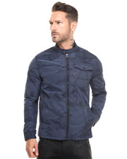 Jackets & Coats - A Camo Zip Overshirt