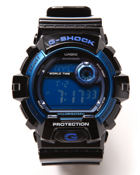 G-Shock By Casio G-8900A-1 Watch Black