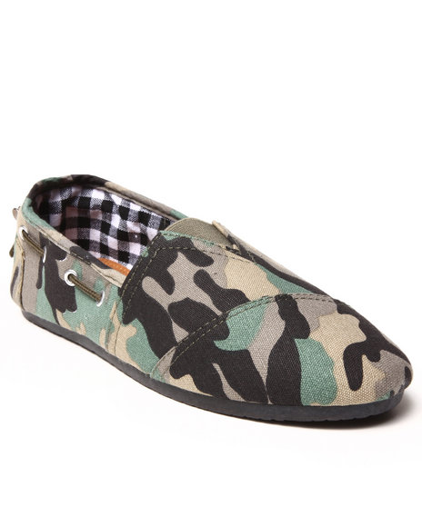 Apple Bottoms - Women Camo Dracoy Casual Canvas Sneaker