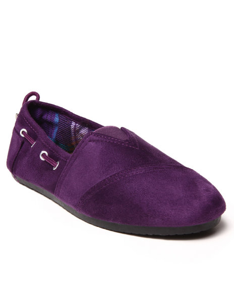 Apple Bottoms - Women Purple Dracoy Casual Canvas Sneaker - $15.00