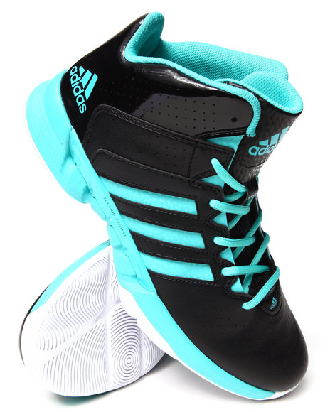 Adidas Black,Green,Teal Cross Em 3 Sneakers